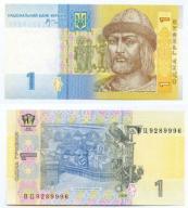 -- UKRAINA 1 HRYWNIA 2006 WC P116A UNC
