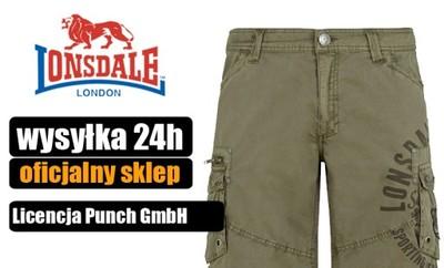 Szorty Lonsdale London bojówki Sidbury - Punch M