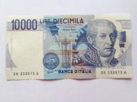 Włochy 10000 Lirów z 1984 roku stan  1