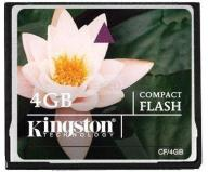 Kingston CompactFlash 4GB F-Vat