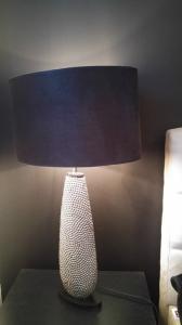Lampa Nocna Czarny Srebrny Tk Maxx 6013551585 Oficjalne