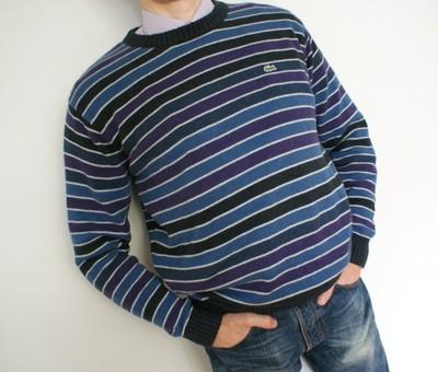LACOSTE sweter męski XL