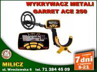 WYKRYWACZ METALU GARRETT ACE 250 /AKUMULATORKI/