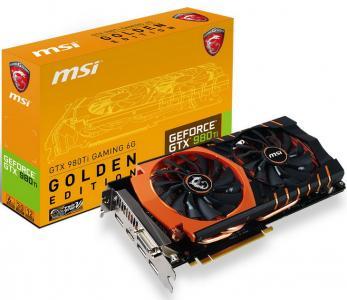 Msi Geforce Gtx 980 Ti Golden Edition Gtx980ti 6gb 5946418045 Oficjalne Archiwum Allegro