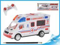 Ambulans sterowany na radio z dźwiękami 22cm