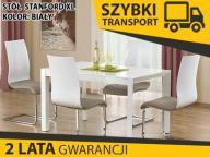 STANFORD XL stół rozkładany 130-250x80 biały