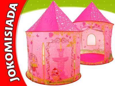 Różowy namiot Pałac domek dla dziewczynki ZA1226 sklep