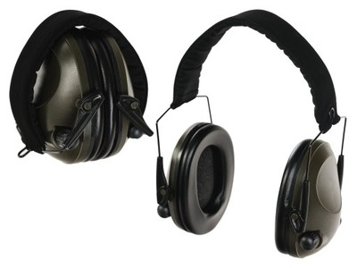 Słuchawki Strzeleckie AKTYWNE Nauszniki - OLIV