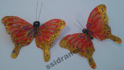 Motylki Motyle Dekoracyjne Motyl Na Prezent M15 6486595844