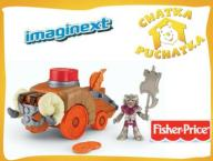 FISHER IMAGINEXT MACHINY BOJOWE TARAN X6582 + DVD