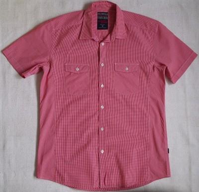 COTTONFIELD koszula kratkę krótki rękaw M