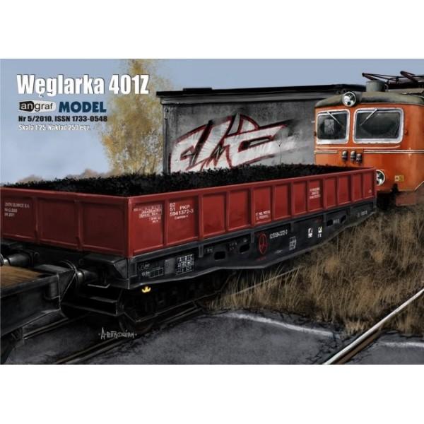 Wagon węglarka 401Z Angraf Model 1:25