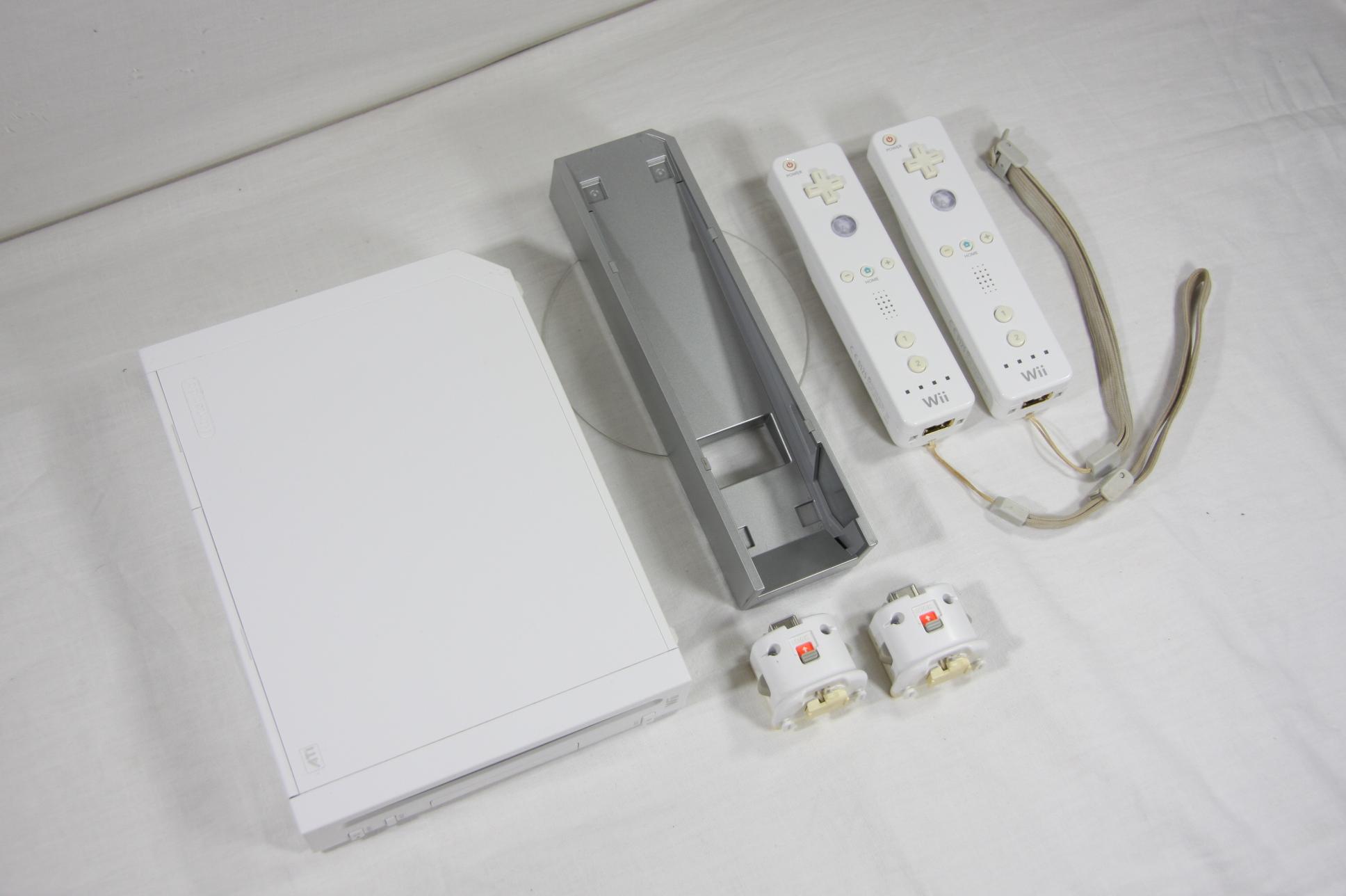 Nintendo WII + 2 Wii Loty Podstawka  Sprawna