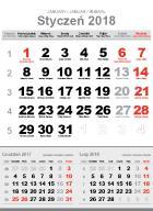 Kalendarium biurkowe do edycji 120x165mm