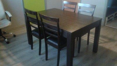 Stol Rozkladany 4 Krzesla Agata Meble Okazja 6512847026