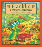 Książka bajka żółw Franklin i święto duchów