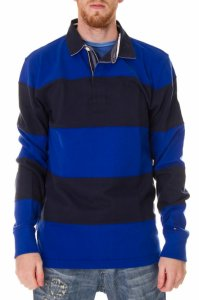 TOMMY HILFIGER LONG SLEEVE POLO RUGBY / M