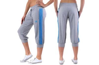 spodnie 3 4 damskie adidas