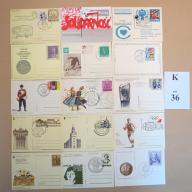 Karty pocztowe kas. okol. MIX BCM!! (K36)
