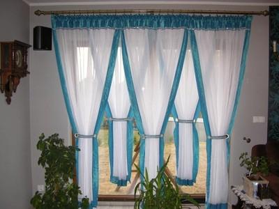 Gotowe Firany Do Salonu Pokoju Na Okno Tarasowe 5865227739