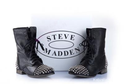 be51a5d5e5d32 Workery Steve Madden ćwieki Siwiec 37 skóra - 6009761630 - oficjalne ...