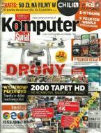 KOMPUTER ŚWIAT NR 2/2016 PŁYTA DVD 2000 TAPET HD