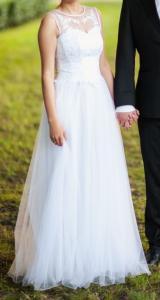 Suknia ślubna Delfina 36 Koronka 5129955054 Oficjalne Archiwum