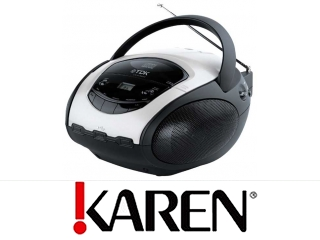 TDK Radioodtwarzacz t78835 USB MP3/CD od Karen