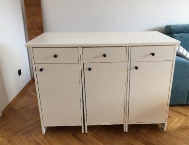 4 Biale Szafki Kuchenne Fyndig Z Blatem Ikea 6507922884