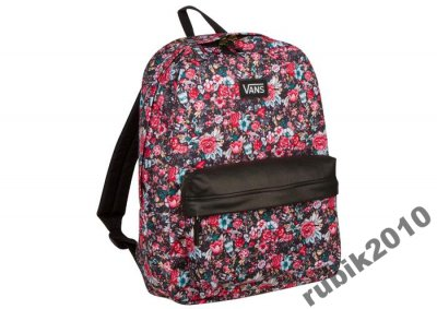 plecak w kwiaty vans