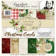 Zestaw papierów do scrapbookingu - Christmas Carol