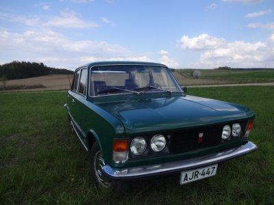 Polski Fiat 125p Wersja Eksportowa 1977 Oryginal 6167572124 Oficjalne Archiwum Allegro