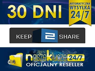 KEEP2SHARE CC 30 DNI RESELLER VOUCHER AUTOMAT 24/7 - 6204295884