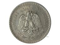 UN Peso 1923 Mexiko Oryginał Srebro Jedyna