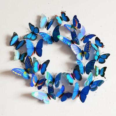 Motyle 3d Motylki Dekoracja Na ścianę 12 Szt 6677813183