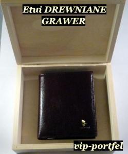 a91a4dfebff75 Puccini skórzany portfel męski brązowy GRAWER ETUI - 3850484699 ...