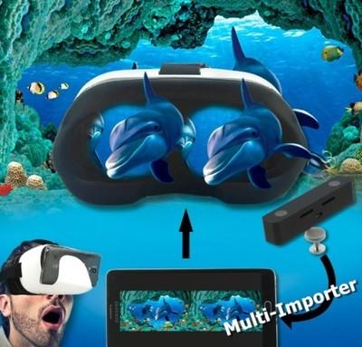 KAMERA 3D SVPRO NAGRYWAJ FILMY W 3D DO OKULARÓW 3D