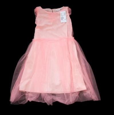 68cd3d45b9 H amp M tiulowa sukienka 140