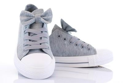 buty adidas damskie trampki z kokarda