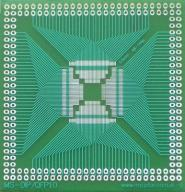 [LISPOL] Adapter uniwersalny QFP48-QFP144