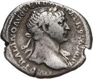 Trajan 98-117, denar 117, Rzym