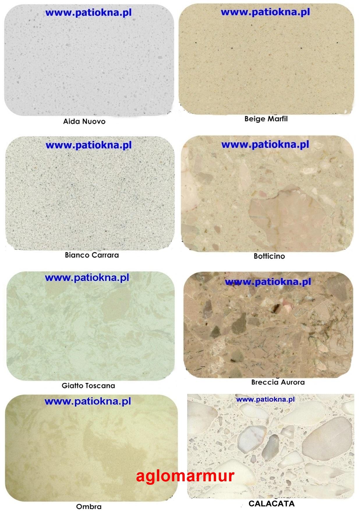 Parapety Wewnetrzne Aglomarmur Grigio Carnico 7074037311