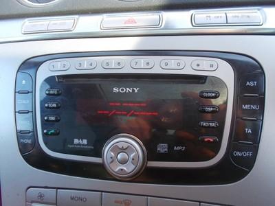 radio sony cd mp3 dab - ford mondeo mk4 focus mk2 - 6936799699