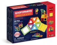 MAGFORMERS 40 EL. BASIC PLUS KLOCKI 3+