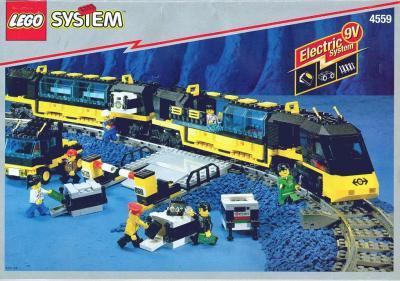 Pociąg Lego 4559 Zestaw Kolejka 9v Regulator Tory 5115380072