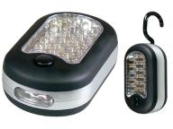 R118 LAMPKA LATARKA MAGNES HAK 24+3 LED!!