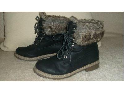 7736fdb9cf631 Super zimowe buty trepy z futerkiem 39 - 6584169517 - oficjalne ...