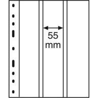 Karty OPTIMA 3 VC  pionowa - banknoty - Leuchtturm