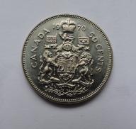 KANADA 50 cents 1970