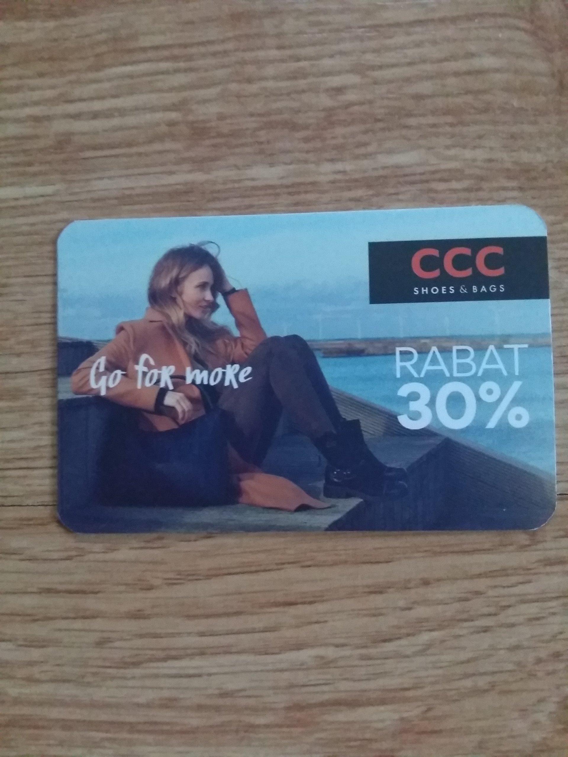 Karta Rabatowa Ccc 7020627220 Oficjalne Archiwum Allegro